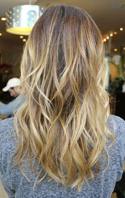 golden caramel hair