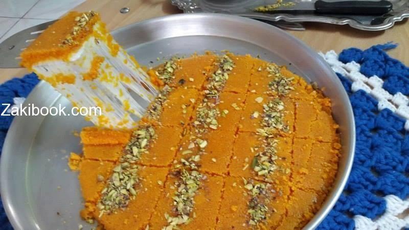 كنافة نابلسية على أصولها من الألف للياء بالصور زاكي Food Ramadan Recipes Food And Drink