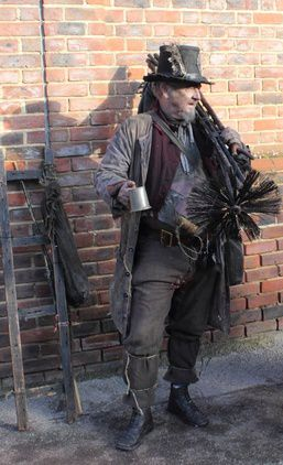 19th Century Chimney Sweep Chimney Sweep Historical Weapon Pose