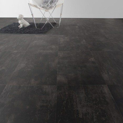Sol Pvc Noir Brown Tile Artens Reflex L4 M Sol Pvc