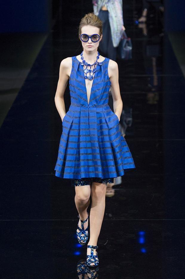 TMVbijoux: Inspirações e tendências de bijuterias e acessórios para a Primavera 2015 na MFW, desfile Emporio Armani