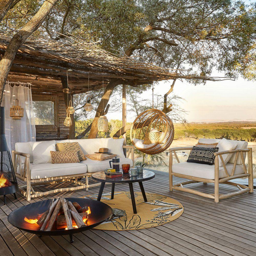 Salon de jardin en bois : l\'indémodable qu\'on adore !   Summer house ...