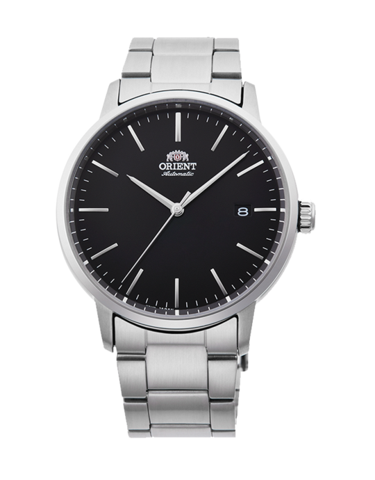 Orient | Maestro (RA-AC0E01B10A) Black in Adjustable Stainless Steel #stainlesssteelrolex