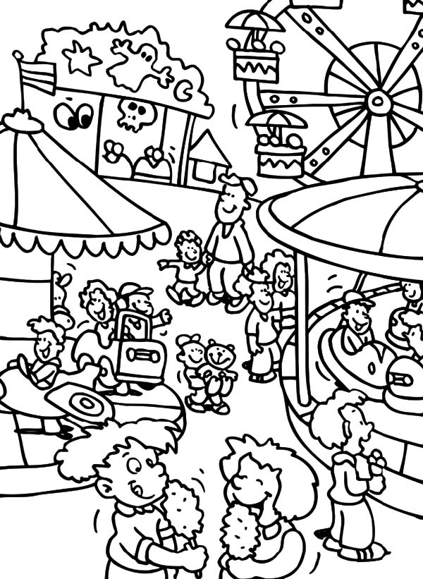 Carnival Activity Coloring Pages Best Place To Color Coloring Pages To Print Coloring Pages Happy Birthday Coloring Pages