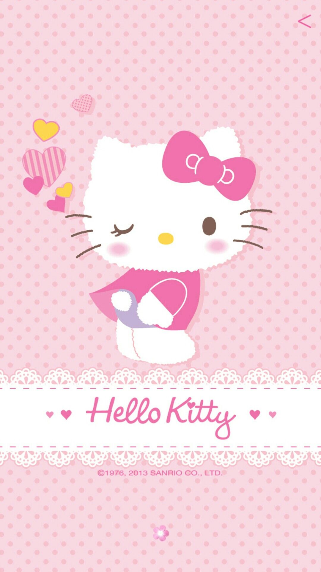 Home Screen Hello Kitty Wallpaper Hd