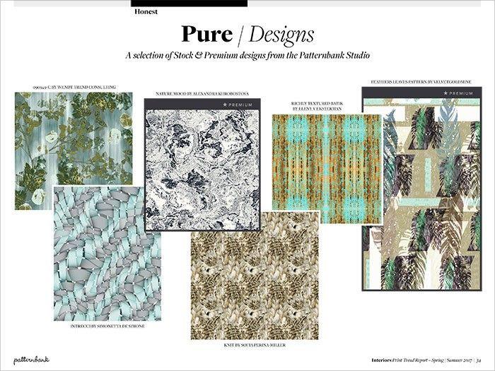 Interiors Print Pattern Trend Report Spring Summer