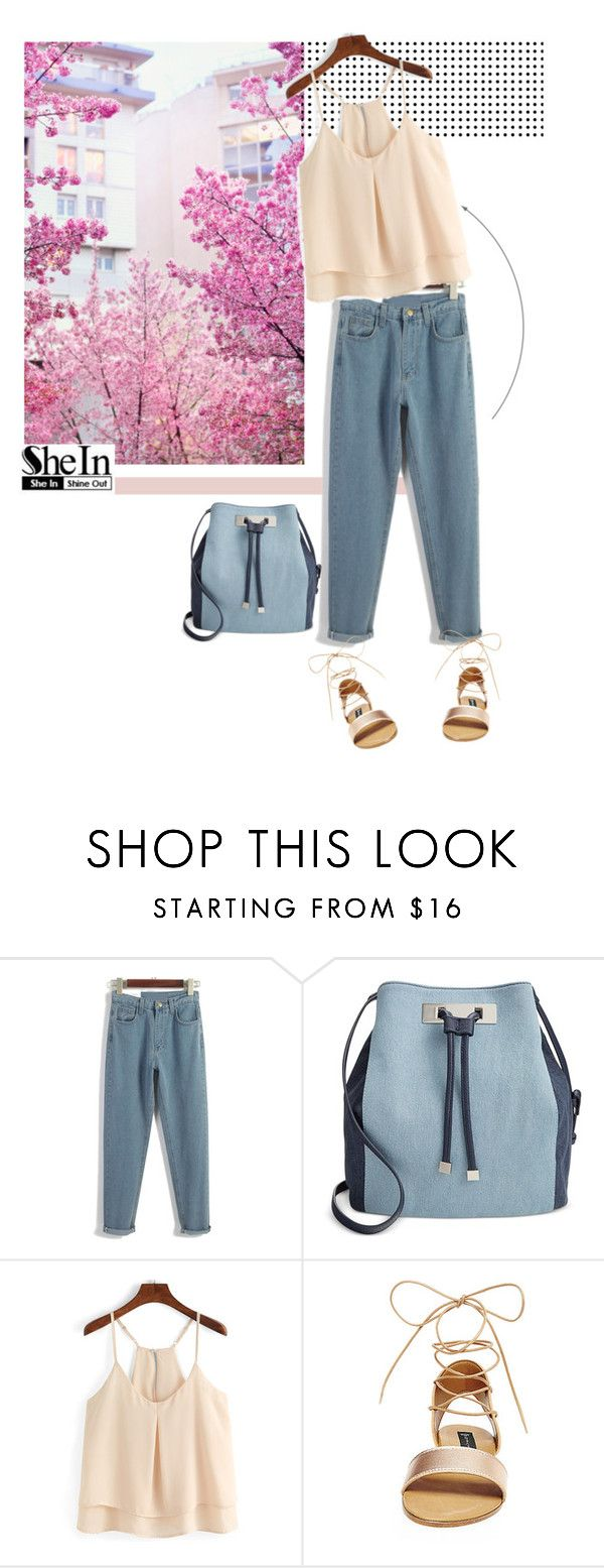 """""""Shein 2/10"""" by mell-2405 ❤ liked on Polyvore featuring GE, INC International Concepts, Steve Madden and vintage"""