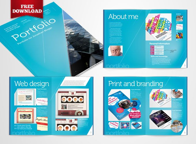 free indesign portfolio template by crs ind templates deviantart com