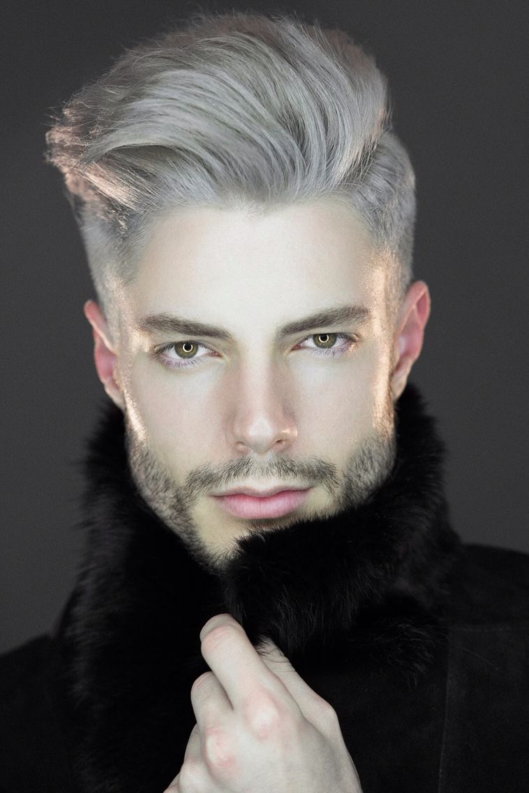 Hair color 2018 for boy pin by brett carr on menus hair  pinterest  grey blonde male