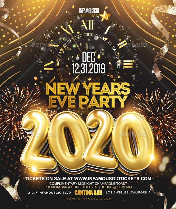 New Years Eve Party 2020 New years eve party, Eve