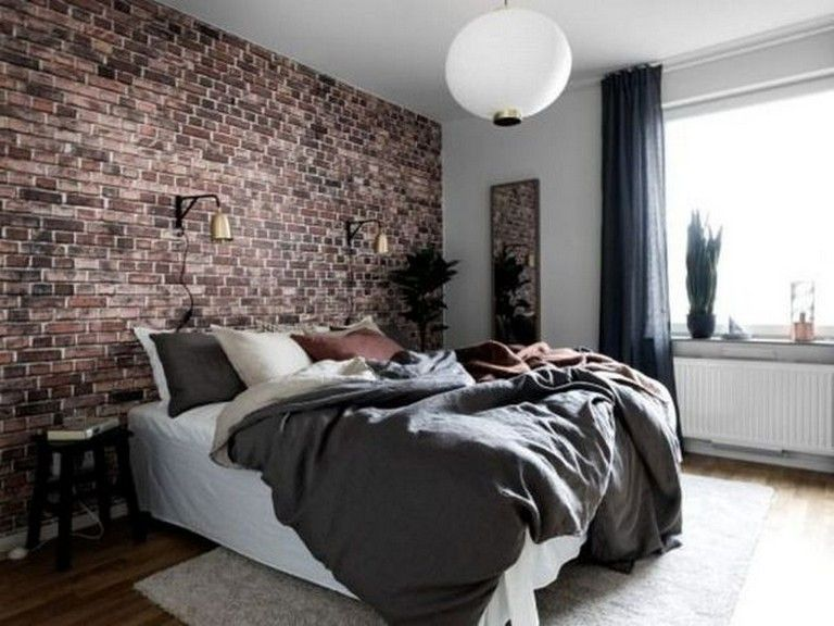 20 Cool Modern Brick Wall Design Ideas For Your Bedroom Bedroom Bedroomdecor Bedroomd Brick Wallpaper Bedroom Wallpaper Bedroom Brick Wallpaper Living Room Black brick wallpaper bedroom ideas