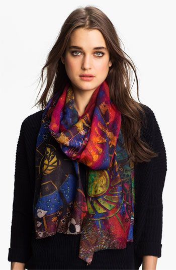 Shawlux 'Gemini' Cashmere & Silk Scarf available at #Nordstrom.