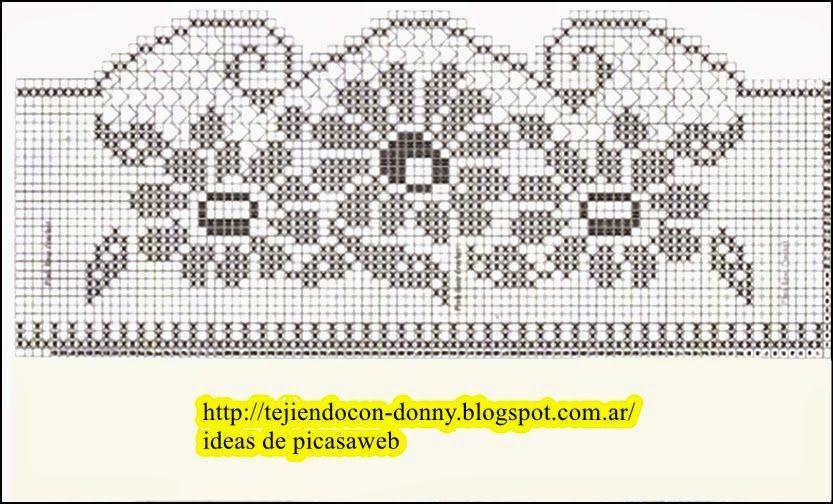 PATRONES - CROCHET - GANCHILLO - GRAFICOS: DIAGRAMAS | GANCHILLO6 ...