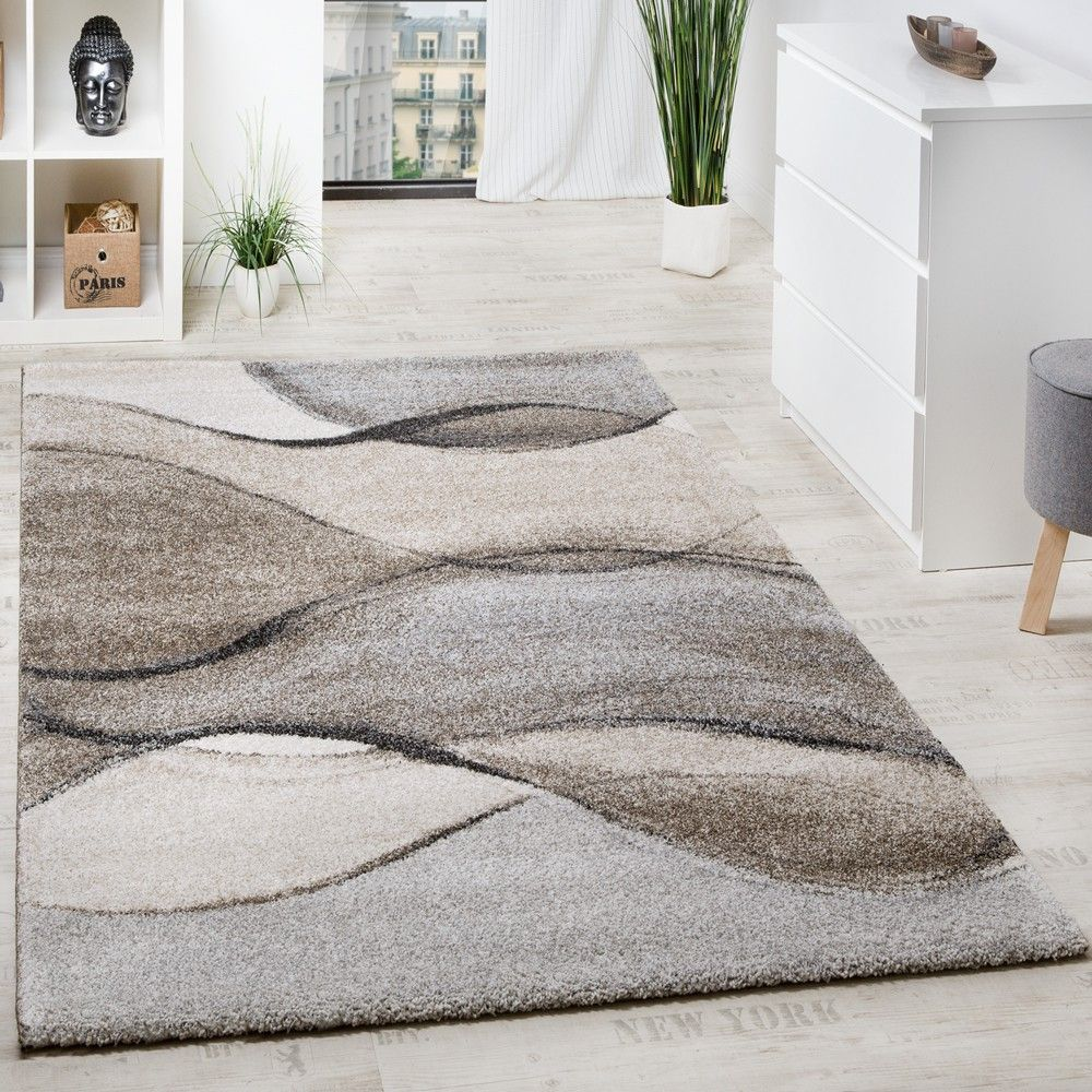 Woven Carpet Modern High Quality With Wave Look Mottled In Grey Beige Cream Modern Rugs Beige Rug Rugs Yellow Area Rugs