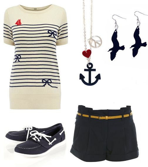 Nautical Fashion is a timeless trend