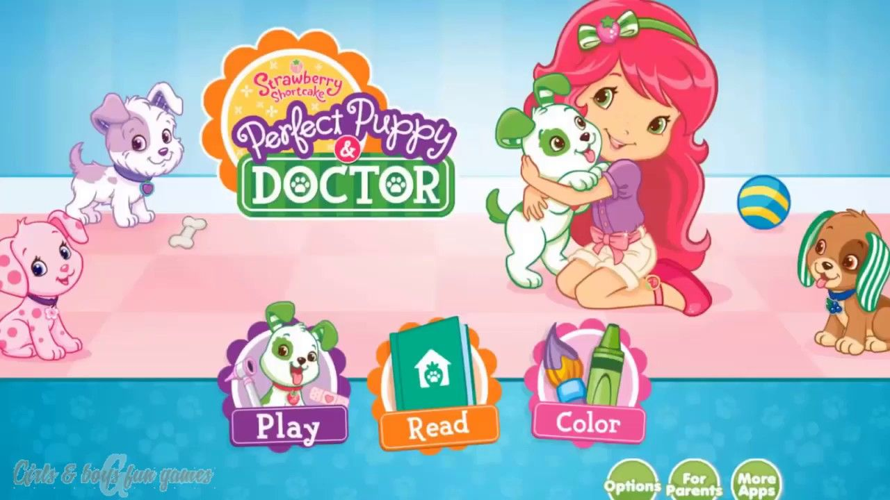 Baby Learn To Take Care Of Cute Pets Strawberry Shortcake Perfect