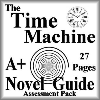 The Time Machine Novel Study Print AND Paperless Google