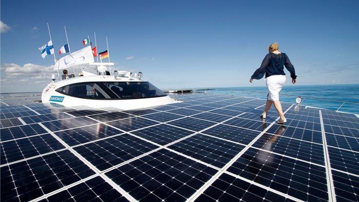 Turanor Planetsolar World S Largest Solar Powered Ship Solar Solar Panels Buy Solar Panels