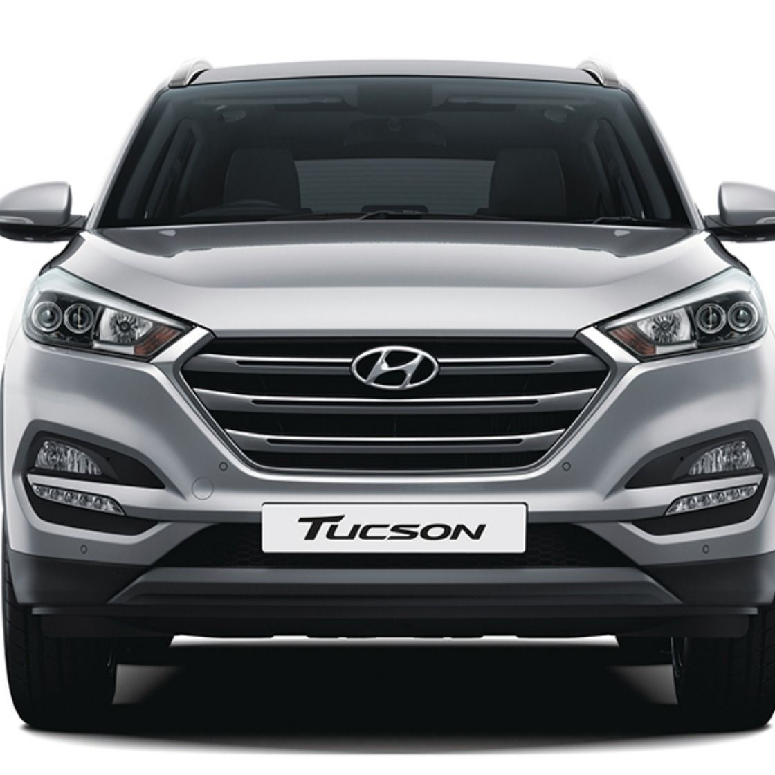 Front View of Tucson The SUV for elite Hyundai cars