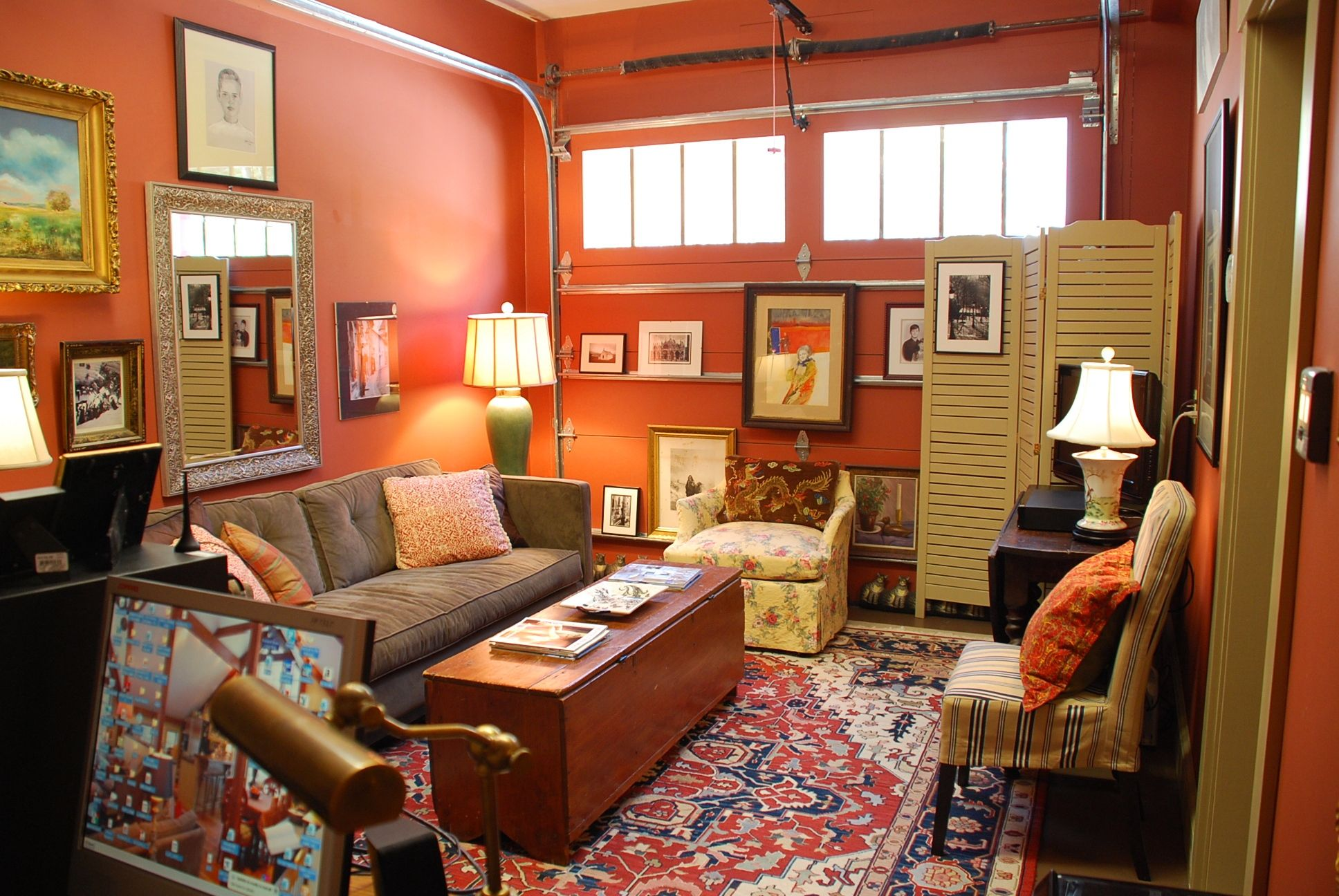 """My Carriage House First Floor The """"Man Cave"""" Gets A"""