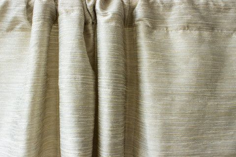 Cream White Raw Silk Window Curtain Panels Curtains Panel