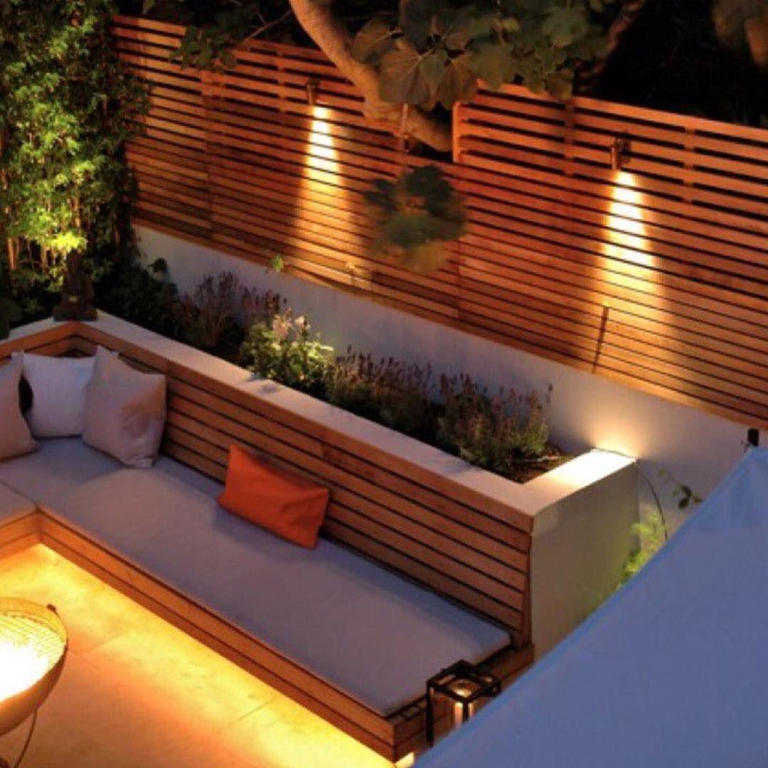Jardin Ambiance Lounge Idees D Amenagement Amenager Petit