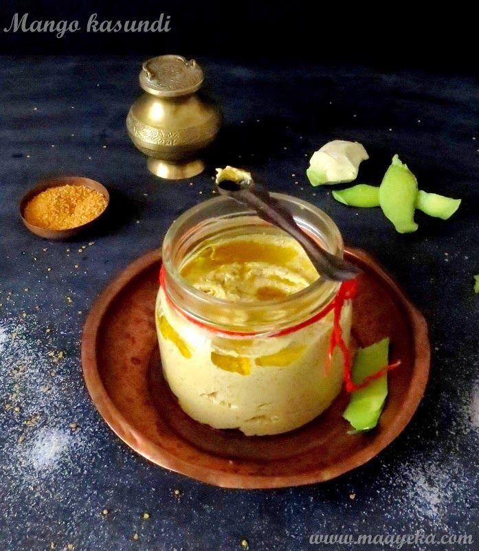 mango kasundi/bengali mustard sauce