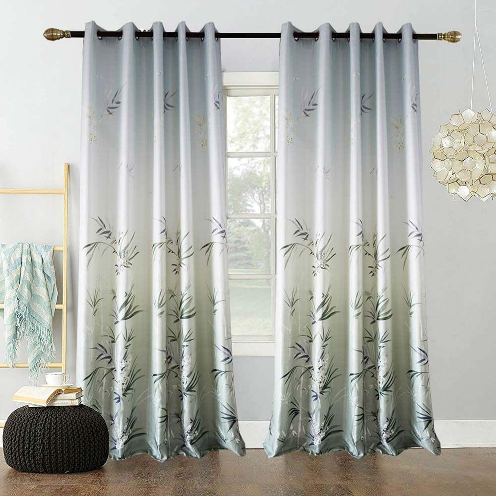 Moderner Volour Vorhang Bambus Design Fur Wohnzimmer Zu Gunstigen