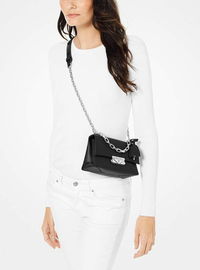 2802c8e7ddb3 MICHAEL Michael Kors Cece Extra-Small Leather Crossbody in 2019 ...