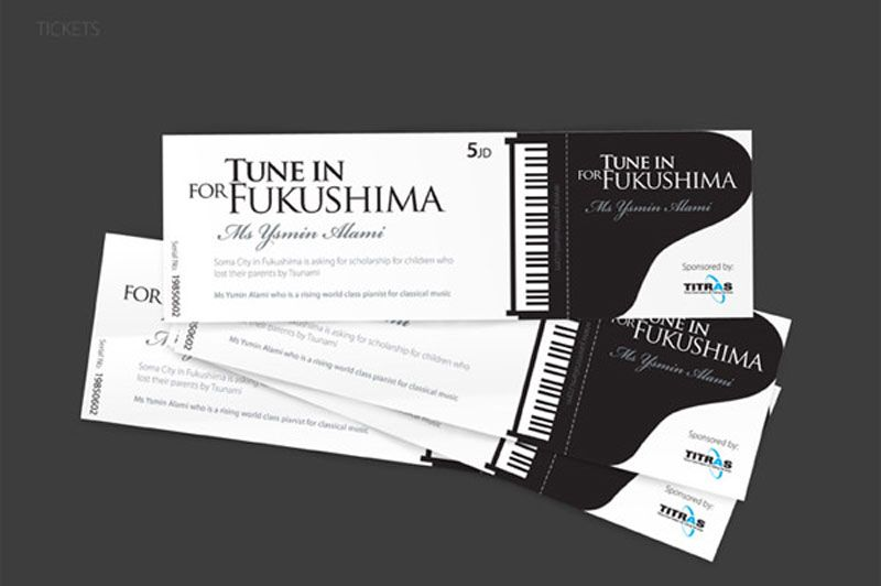 A Collection Of Well Designed Event Tickets  How To Design A Ticket For An Event