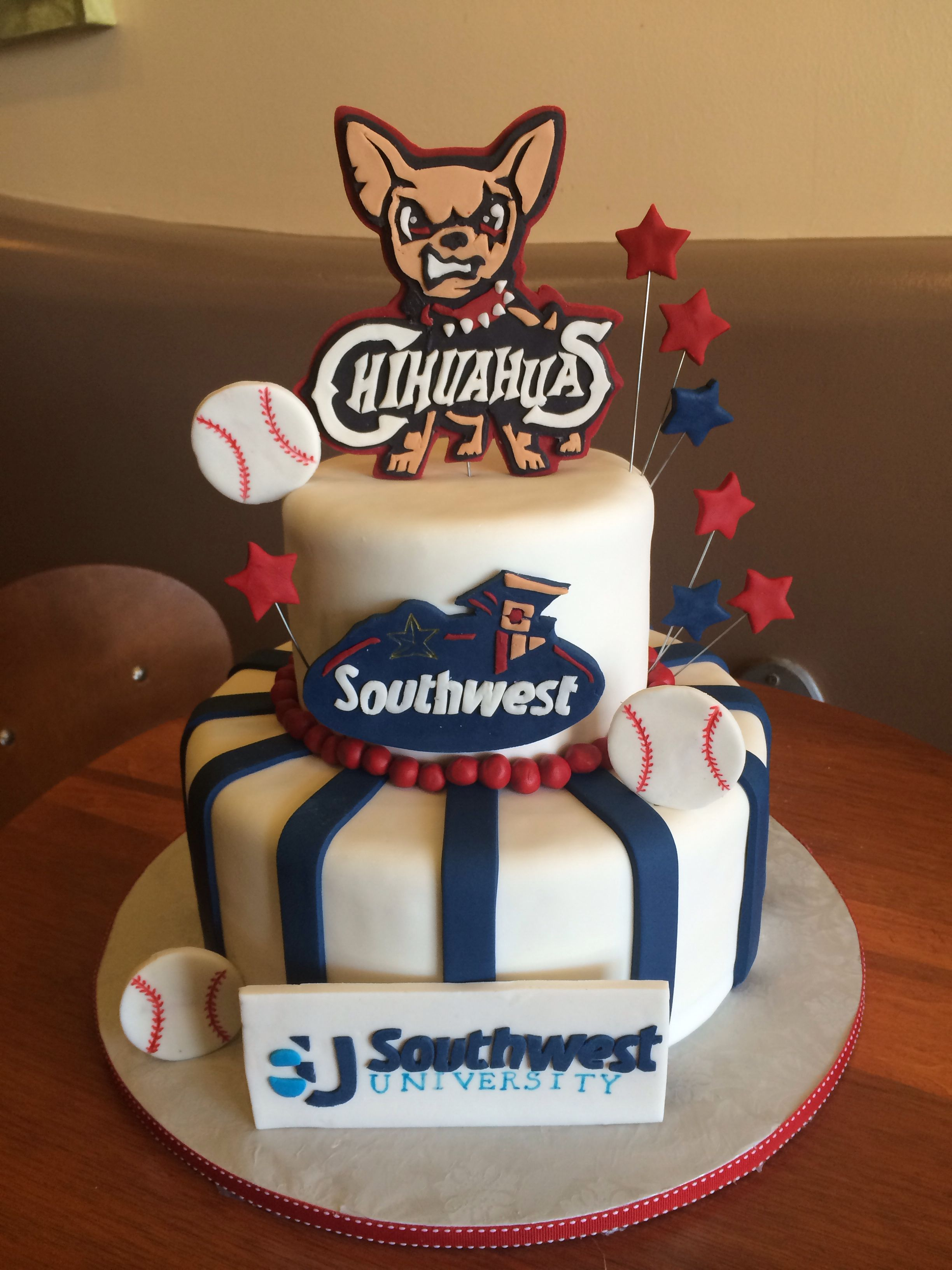 El Paso chihuahua's cake | The cake boutique | Cake, Birthday cake ...