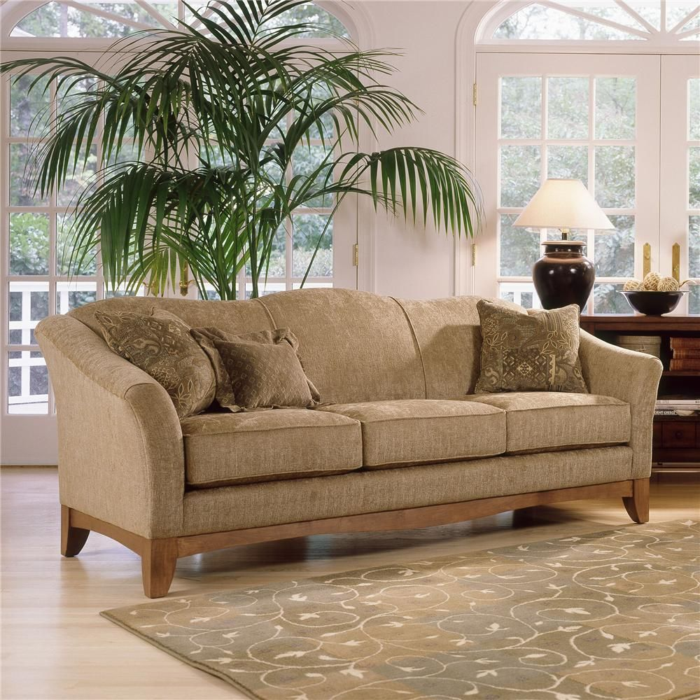 348 Stationary Upholstered Sofa By Smith Brothers   Gill Brothers Furniture    Sofa Muncie, Anderson