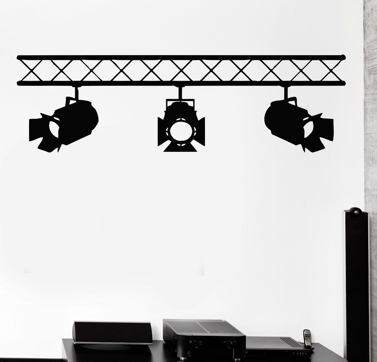 Pegatinas de pared del vinilo proyectores cine rampe lugar - Vinilos de cine ...
