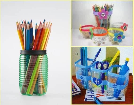 25 diy plastic bottle recycling decoration ideas plastic for Plastic bottle decoration ideas