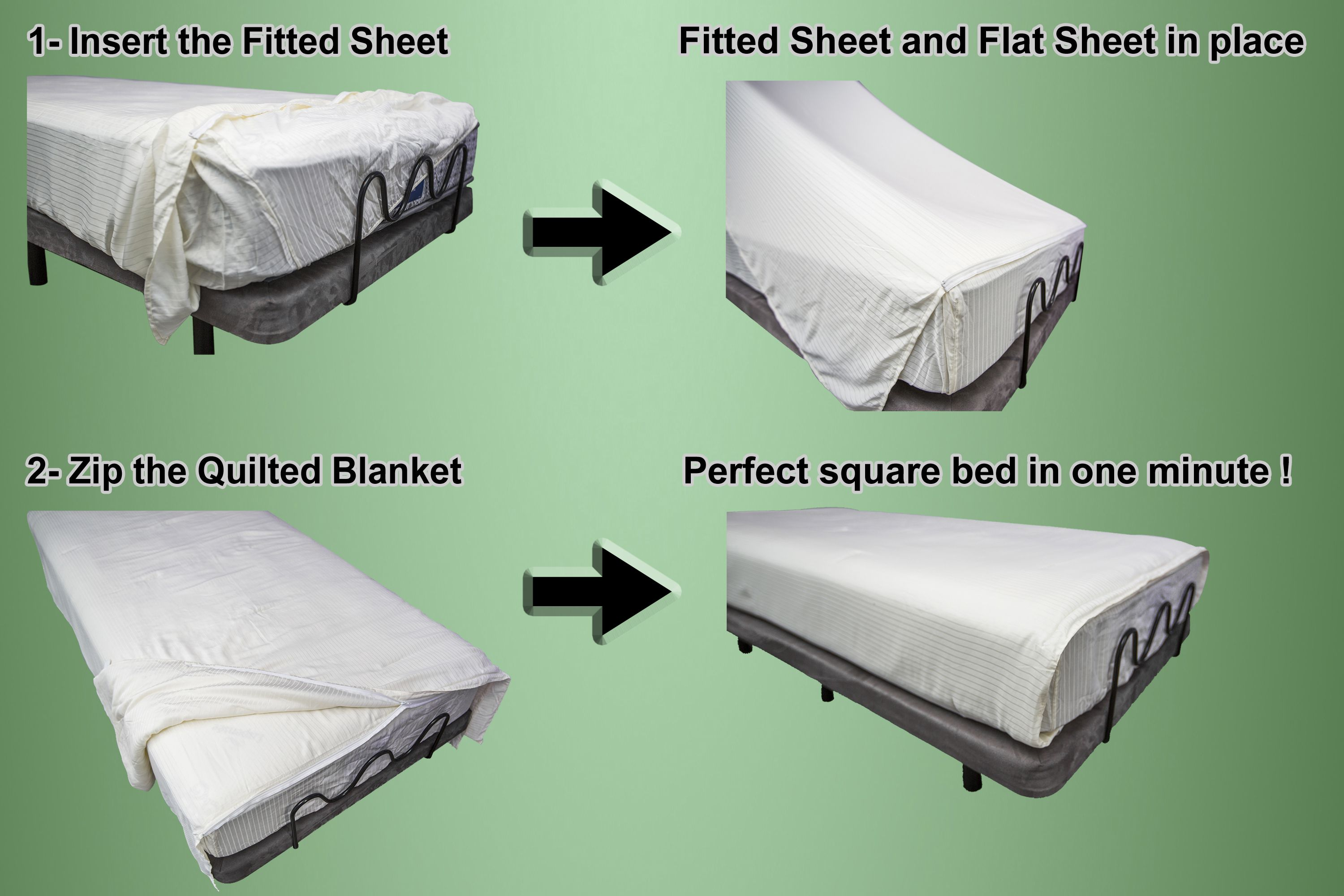 easy steps to make the koala bed sheets for your adjustable bed