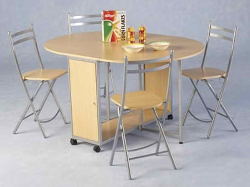 17 Cool Collapsible Dining Table And Chairs Foto Idea