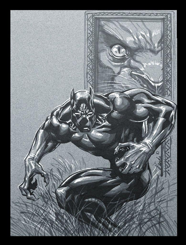 #Black #Panther #Fan #Art. (Black Panther) By:Chuckdee. (THE * 5 * STÅR * ÅWARD * OF: * AW YEAH, IT'S MAJOR ÅWESOMENESS!!!™) ÅÅÅ+
