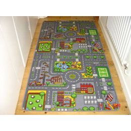 Rug With Roads For Toy Cars Play Inc Road Town Car Play Mat Find