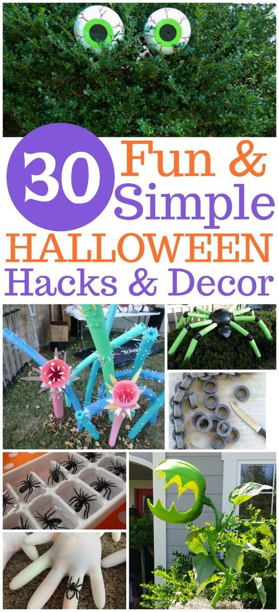 30 Fun and Unique Halloween Ideas Pinterest Decoration - fun halloween decorating ideas