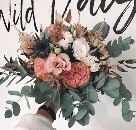 BOHO SOMMER BRAUTSTRAUSS // WILD WEDDING FLOWERS