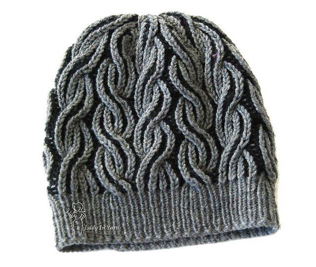 Flaming Beanie pattern by Lady in Yarn  919a80de911