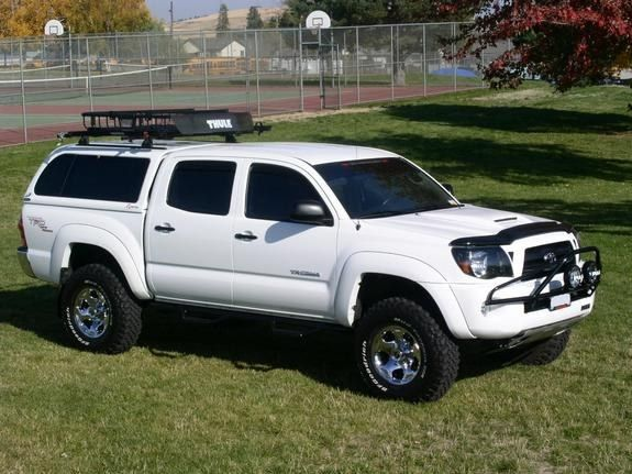 Toyota Tacoma With Camper Shell