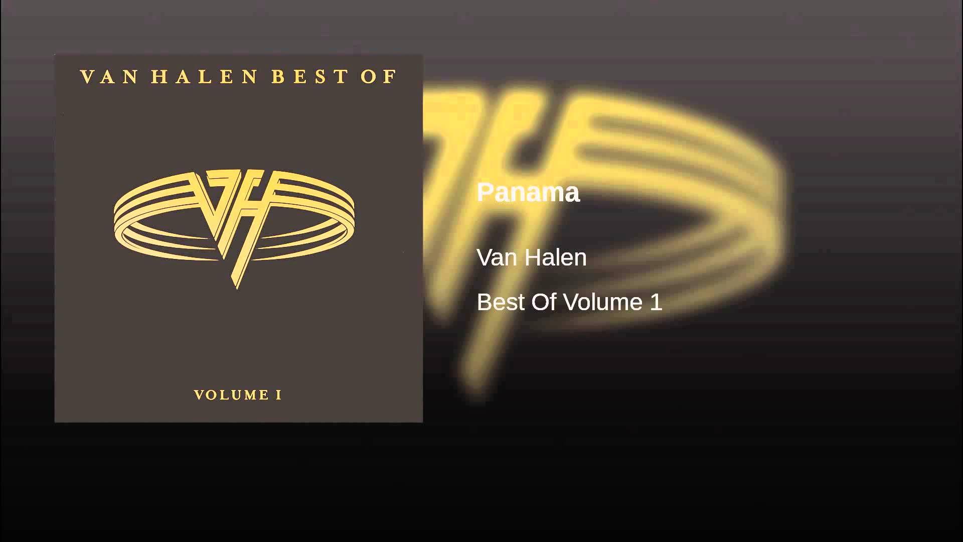 Panama Van Halen 1984 Van Halen