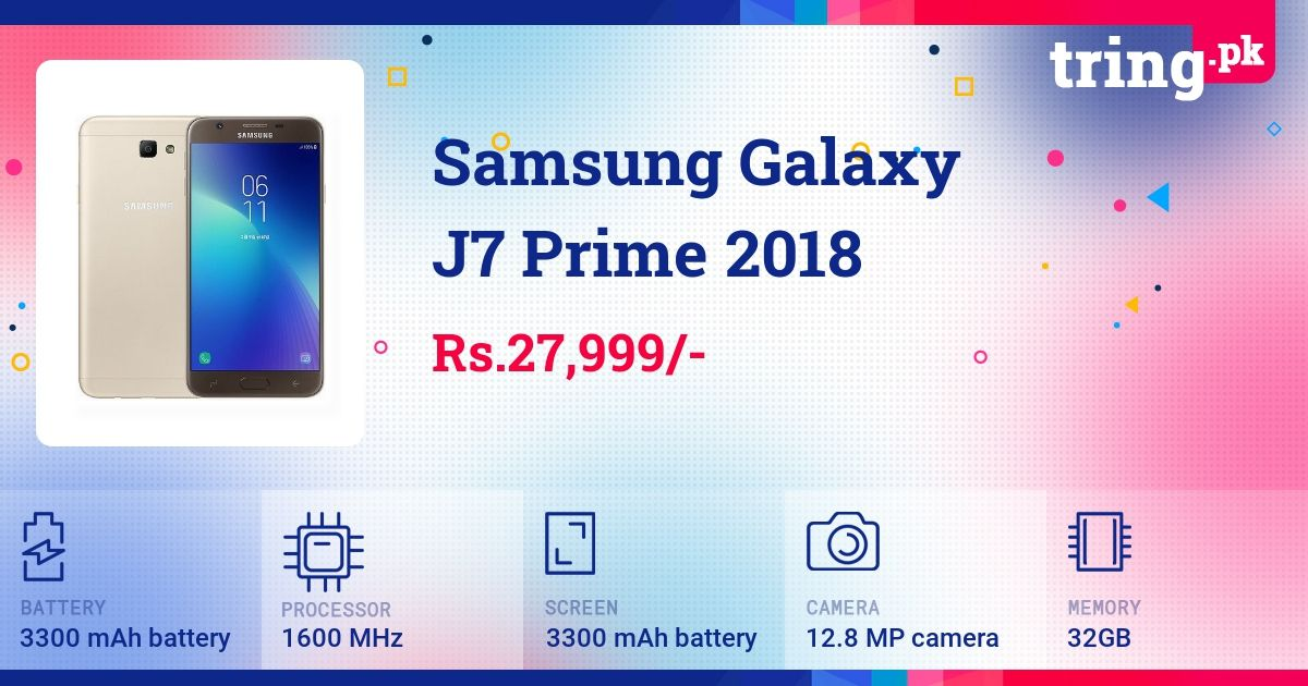 The Samsung Galaxy J7 Prime J7p Smartphone Was Released In 2016