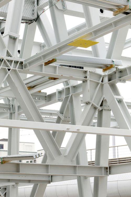 AvB Tower, Wiel Arets Architects, Netherlands   Estrutura
