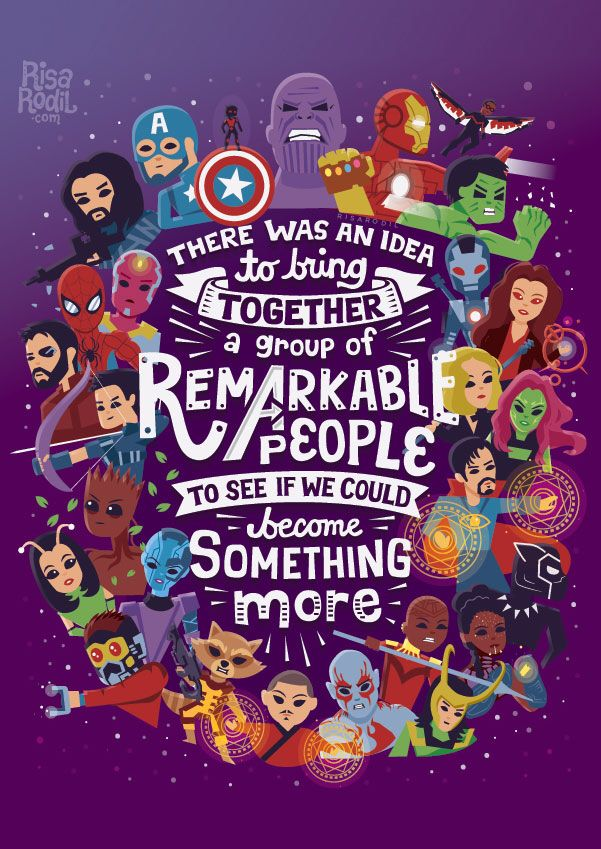 Artist Risa Rodil Marvel Avengers Marvel Marvel Cinematic