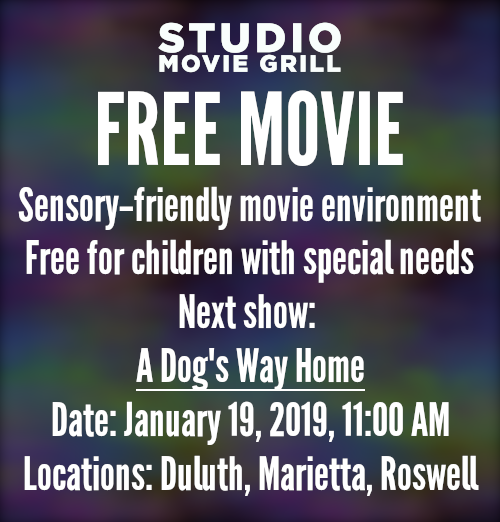"""Studio Movie Grill presents """"A Dog's Way Home"""" on Sat, Jan"""