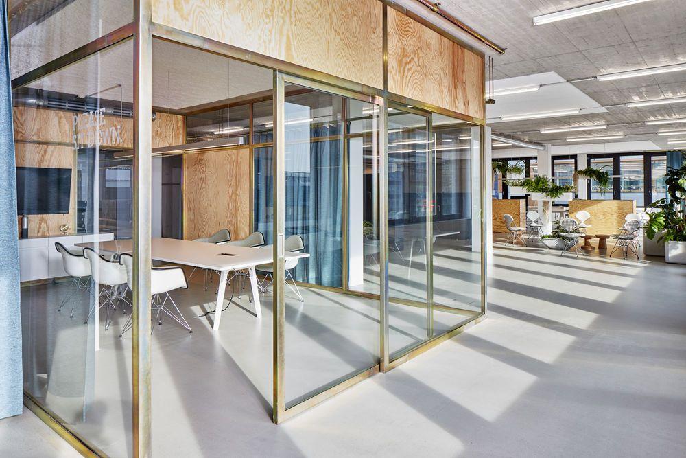ON Büros in Zurich Vitra Inneneinrichtung Bois et architecture - inneneinrichtung