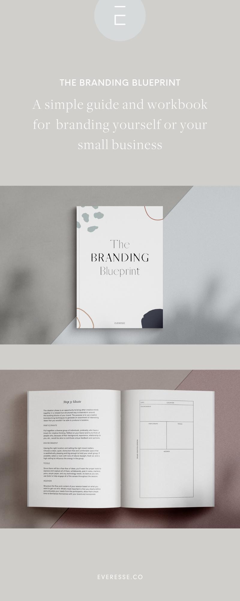 The Branding Blueprint With Images Branding Workbook Branding Small Business Branding