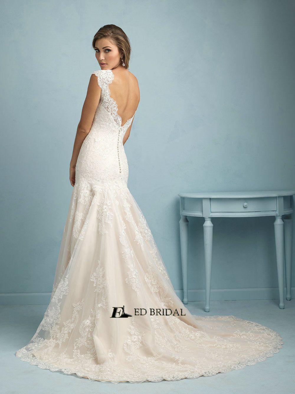 Ed Yh2266 Vestidos De Novias Whole Lace Cap Sleeve Simple Wedding Dresses View Bridal Product Details From